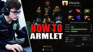 miracle dota 2 play kunkka item build epic armlet 1 youtube