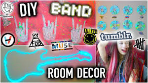 Punk Rock Bedroom Diy Band Room Decor Tumblr Ideas You Need To Try Youtube