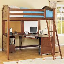 Whalen Furniture 3 in 1 loft bed, desk, and cube - Loft bed with desk