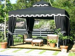 full size of outdoors by design canopy fabric gazebo with brown white table and chairs exciting