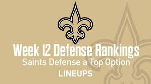 Week 12 Nfl Defense Def Fantasy Football Rankings Stats
