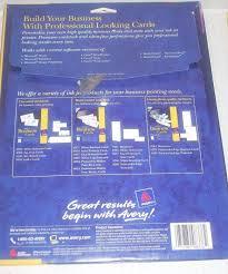 Epub Descargar Avery Inkjet Business Card 8376 Template