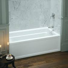 alcove bathtub archer x alcove bathtub with integral a and left hand drain alcove bathtub installation alcove bathtub
