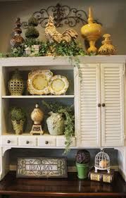 Decorating Kitchen Cabinets Kitchens Charming Decorating Ideas For Above Kitchen Cabinets
