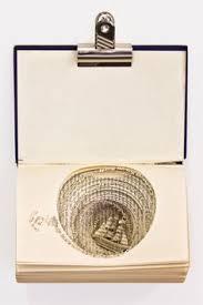 3d book sculptures symbolize struggles with ocd paper boatsbook craftscraft bookspaper artbook