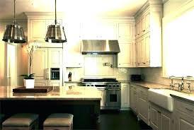 kitchen island lighting ideas above farmhouse