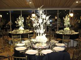 Unique Wedding Centerpieces On A Budget With Branches And Lights