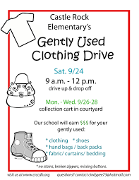 Food Drive Flyer Samples Clothing Drive PTA Pinterest Craft 9