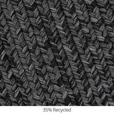black outdoor braided rugs in usa