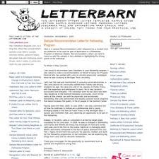 Student Recommendation Letter Sample Reference Letter Pearltrees