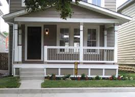Updated porch on older house