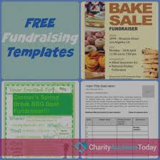 008 Free Fundraiser Flyer Charity Auctions Today Inside Printable