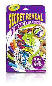 Small Picture Crayola Secret Reveal Extreme Coloring Pages and Markers Drawing