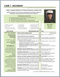 Resume Examples Military To Civilian Kantosanpo Com