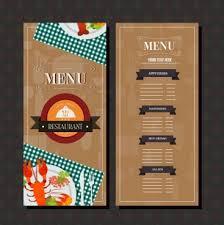 Resturant Menu Template Restaurant Menu Template Free Vector Download 16 852 Free Vector