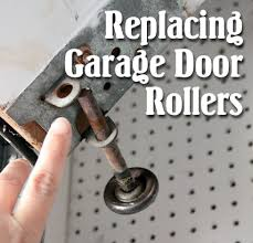 garage door rollersHow to Replace Garage Door Rollers  Pretty Handy Girl
