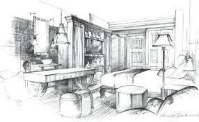 interior design sketches kitchen. Interior House Design Sketch Pencil Drawing Ideas Google Sketchup . Sketches Kitchen S