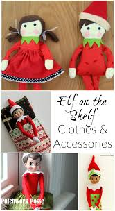 Elf On The Shelf Clothes Pattern