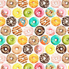 Colorful Donuts Wrapping Paper