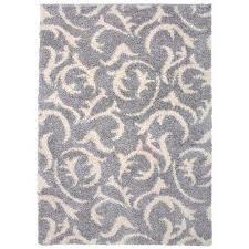 modern scroll soft plush 5 x 7 area rug