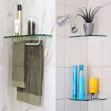 Bluegate Floating Glass Shelves