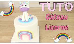 Gateau P Te Sucre Licorne Unicorn Cake Cake Design