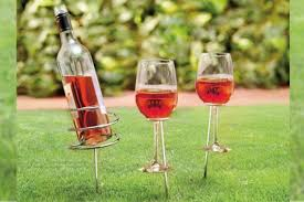 wine glass holders image pigsback com