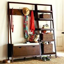 Corner Hall Tree Coat Rack Stunning Excellent Entry Way Coat Rack Medium Size Of Shoe Storage Bench With