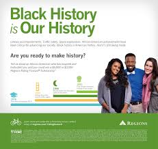 regions o make happy happen regions black history month