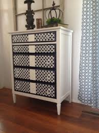 pattern furniture. this stenciled dresser uses the nagoya craft pattern from cutting edge stencils http furniture