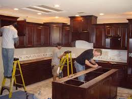 Carpenter Kitchen Cabinet Calm How To Install Kitchen Cabinets Home Furniture Design