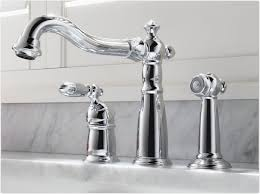 Delta Chrome Kitchen Faucets Delta 155 Dst Victorian Single Handle Kitchen Faucet With Spray