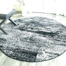 white round rug gray and white round rug black round area rugs found it at black
