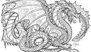 Realistic Dragon Coloring Pages Page Color Or Plus Printable For