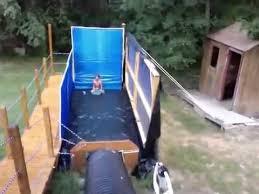Inflatable Bounce House Water Slide Kids Outdoor Play Backyard Water Slides Backyard