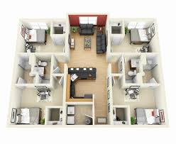 4 bedroom house designs. Contemporary Bedroom Small 4 Bedroom House Plans Luxury 11 Simple Floor  Impressive In Designs P