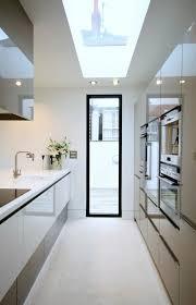 galley kitchen design idea 35