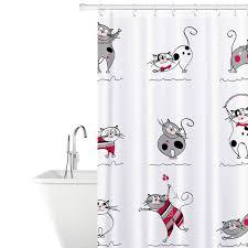 """Штора для <b>ванной</b> комнаты <b>Tatkraft</b> """"Funny Cats"""", 180х180 см ..."""