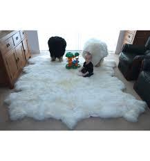 big white fur rug designs
