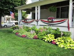 Incredible Simple Front Landscaping Ideas Simple Front Yard Landscaping  With Flowers For Ranch Style Homes