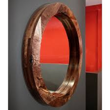 hudson furniture mirrors round enigma
