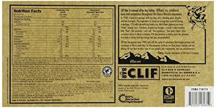 amazon clif bar variety pack chocolate chip crunchy peanut er 2 4 oz nutrition bars 24 count health personal care