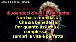 Che sia benedetta - Fiorella Mannoia (Base KARAOKE originale - SANREMO  2017) - YouTube