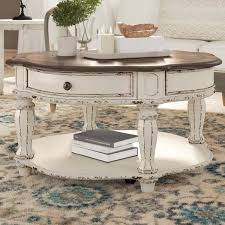 best round wooden coffee tables 2021