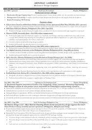 Mechanical Engineer Resume Sample X Resume Sample Mechanical
