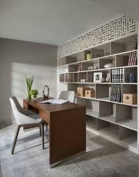 white airy home office. Airy Home Office, White Library In A Modern Garden Apartment. Office T