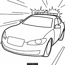 Police Coloring Pages For Kids At Getdrawingscom Free For