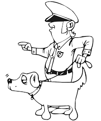 Police Coloring Pages Coloring Pages To Print Color Printing