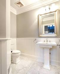 Marble pedestal sink Lithea Powder Room Pedestal Sink Marble Pedestal Sink Traditional Powder Room With Complex Marble Tile Floors Crown Powder Room Pedestal Sink Oobaawocchiclub Powder Room Pedestal Sink Memoirs Pedestal Sinks Porcelain Sink