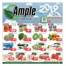 ample foods flyer ample food market canada flyers